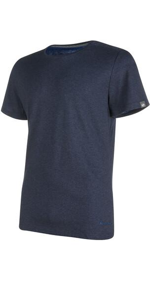 Mammut Crashiano T-Shirt Men marine melange-ultramarine